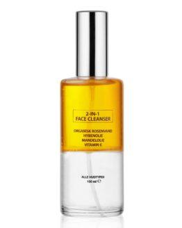 2-In-1 rens renser fugter reparere huden vegansk naturlig til tør hud uren hud absolut bedst rens Ansigtsrens
