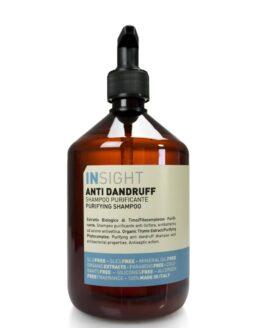INsight Anti dandruff Shampoo til behandling af hovedbundsskæl naturlig vegansk miljøvenlig