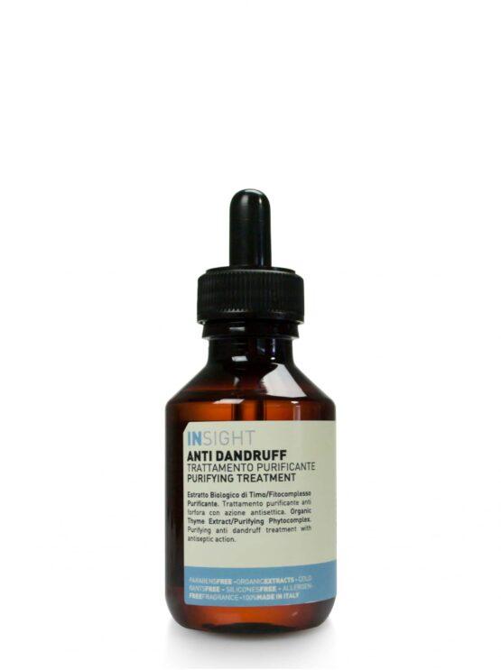 INsight Anti-dandruff Treatment til behandling af hovedbunds skæl vegansk miljøvenlig naturlig