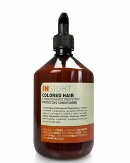INsight Colored conditioner hårbalsam til farvet hår curly girl glansgivende miljøvenlig vegansk 96% naturlig
