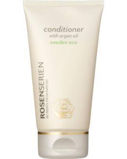 Rosenserien økologiske conditioner med agenolie økologisk vegansk miljøvenlig balsam hårpleje naturlig