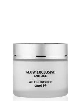 Glow Nordic hudpleje anti-age creme rosenolie vegansk naturlig creme til tør hud uren hud alle hudtyper og sart hud tør hud uren hud