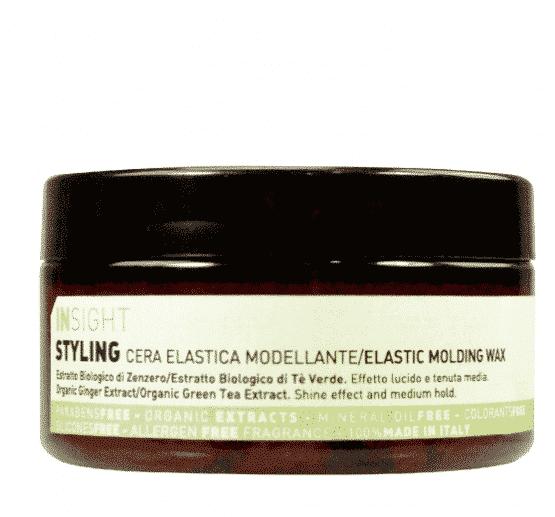 Insight Styling Elastic Molding Wax hårpleje 96% naturlig vegansk alle hårtyper