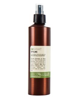 INsight Styling ecospray hårpleje hårlak hårspray vegansk miljøvenlig 96% naturlig stylingsspray hårlak hårspray naturlig