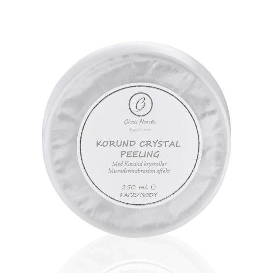 Glow Nordic Peeling Korund Crystal glat hud ren hud dybderens ansigt og krop
