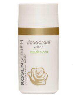 Rosenserien økologiske deodorant roll on naturlig økologisk vegansk mild naturligduft miljøvenlig sart hud