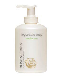 Rosenserien økologiske sæbe økologisk vegansk naturlig mild showergel håndsæbe