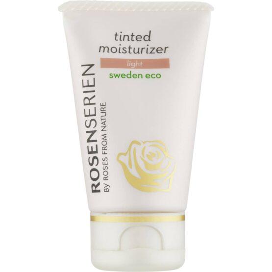Rosenserien økologiske moisturizer naturlig glød til huden miljøvenlig