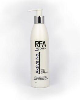 Rfa+ aktivNo skæl Dansk hårpleje allergivenlig allergivenlig skælshampoo skæl dandruff dansk skælproblemer sart hovedbund