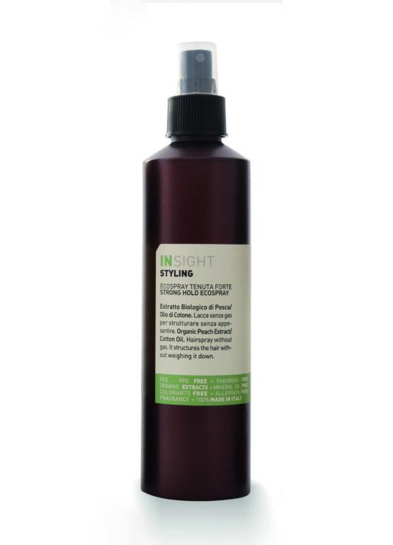 INsight Strong Hold Ecospray økologisk hårspray en hårlak til styling