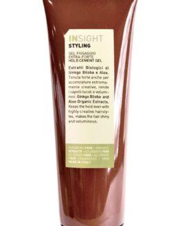 INsight Styling gel naturlig hårpleje gel stærkt hold krøller glathår korthår stærk hold