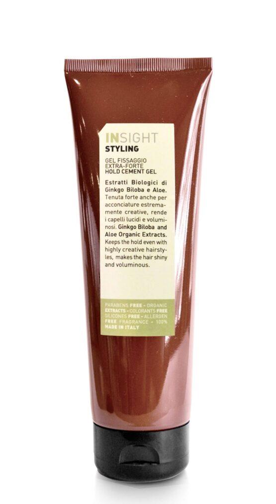 INsight extra forte gel Styling gel stærkt hold til krøllet hår og giver en stærkt hold