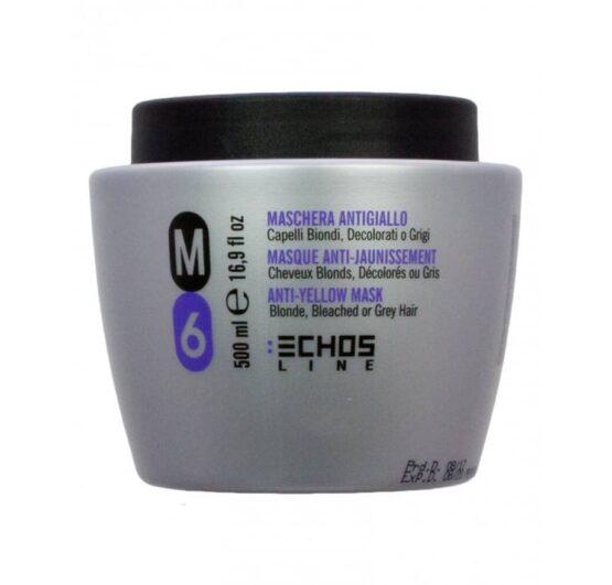 Echosline m6 silver mask anti-yellow mask til blonde hår og hvidt hår