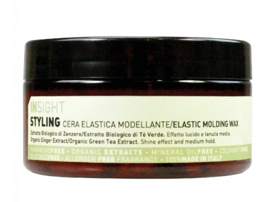 INsight Mattifying Pomade wax naturlig vegansk mat hårvoks til styling