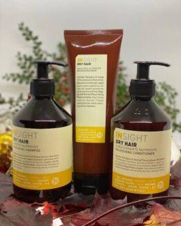 Insight dry hairshampoo, Conditioner og mask hårplejeprodukter