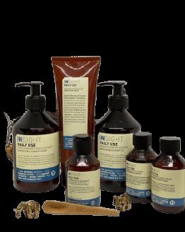 INsight Hårplejesæt Daily Use Energizing Pakketilbud naturlig hårpleje til hyppige hårvaske