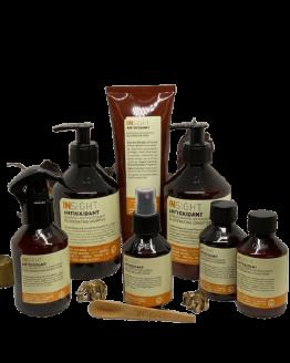 INsight Antioxidant Hårplejesæt-Pakketilbud naturlig hårpleje til naturligt slidt og skadet hår glansgivende